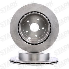 STARK SKBD-0023372 Bremsscheibe OEM - 26700FG010 BEDFORD, SUBARU günstig