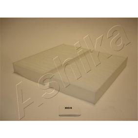 ASHIKA HONDA CIVIC Filtro de habitáculo (21-H0-H04)
