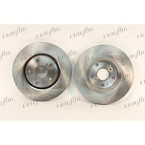 Bremsscheibe FRIGAIR Art.No - DC15.101 OEM: 4351205080 für TOYOTA, LEXUS, WIESMANN kaufen