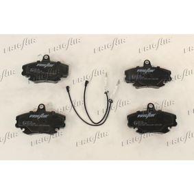 Bremsbelagsatz, Scheibenbremse FRIGAIR Art.No - PD09.502 OEM: 7701204833 für RENAULT, PEUGEOT, NISSAN, CHEVROLET, DACIA kaufen
