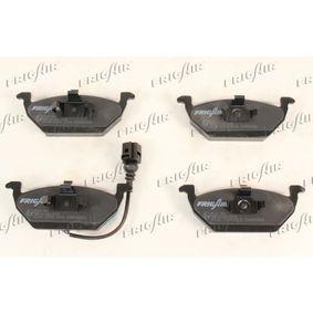 Bremsbelagsatz, Scheibenbremse FRIGAIR Art.No - PD10.501 OEM: JZW698151 für VW, AUDI, SKODA, SEAT, SMART kaufen