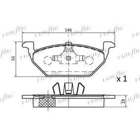 JZW698151 für VW, AUDI, SKODA, SEAT, SMART, Bremsbelagsatz, Scheibenbremse FRIGAIR (PD10.501) Online-Shop