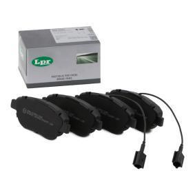 GRANDE PUNTO (199) LPR Sensor de desgaste de pastillas de frenos 05P1657