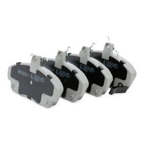 ASHIKA 50-04-427 Комплект спирачно феродо, дискови спирачки OEM - GBP90313 MG, ROVER, SKODA, MAGNETI MARELLI евтино