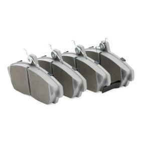 ASHIKA Комплект спирачно феродо, дискови спирачки (50-04-427) на ниска цена