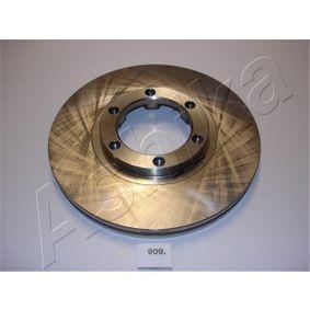 Bremsscheibe ASHIKA Art.No - 60-09-909 OEM: 8943724350 für OPEL, CHEVROLET, ISUZU, CADILLAC, PONTIAC kaufen