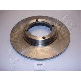 ASHIKA Pedales y cubre pedales 60-0W-004