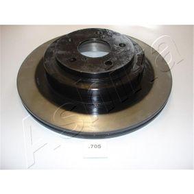 Bremsscheibe ASHIKA Art.No - 61-07-705 OEM: 26700AE081 für SUBARU, BEDFORD kaufen