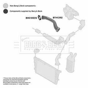 Ladeluftschlauch BORG & BECK Art.No - BTH1392 OEM: 55557038 für OPEL, VAUXHALL kaufen