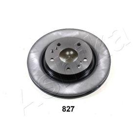 Bremsscheibe ASHIKA Art.No - 60-08-827 OEM: 5531161M00 für SUZUKI, SUBARU, BEDFORD kaufen
