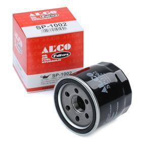 IMPREZA Schrägheck (GR, GH, G3) ALCO FILTER Motorölfilter SP-1002