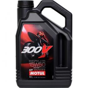 SAE-15W-50 Olio motore MOTUL 104129 negozio online