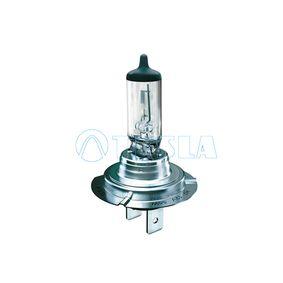TESLA Крушка с нагреваема жичка, фар за дълги светлини B10701
