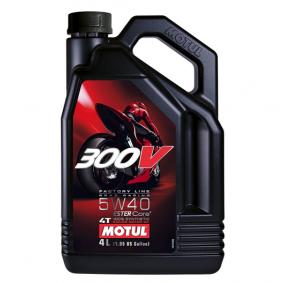 Двигателно масло SAE-5W-40 (104115) от MOTUL купете онлайн