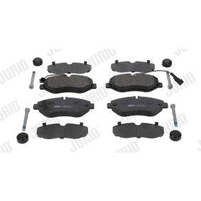 Bremsbelagsatz, Scheibenbremse JURID Art.No - 2919009561 OEM: A0044206920 für VW, MERCEDES-BENZ kaufen