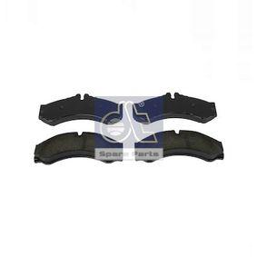 Bremsbelagsatz, Scheibenbremse DT Art.No - 4.91902 OEM: 0004217391 für MERCEDES-BENZ kaufen