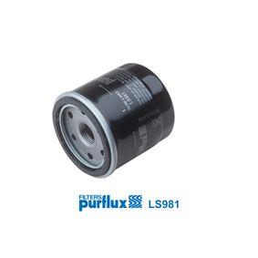 Filtro de aceite PURFLUX (LS981) para CHEVROLET AVEO precios