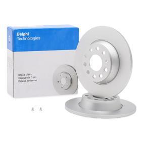 5Q0615601G за VW, AUDI, SKODA, SEAT, Спирачен диск DELPHI (BG3954C) Онлайн магазин