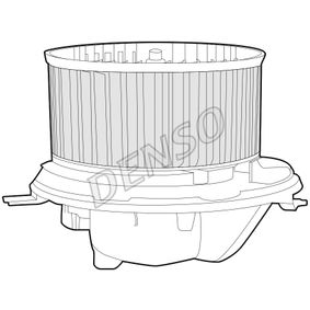 DENSO Interior Blower 1K1819015C for VW, AUDI, VOLVO, SKODA, SEAT acquire