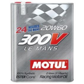 SAE-20W-60 Моторни масла MOTUL 104245 онлайн магазин