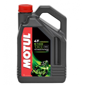 SAE-10W-30 Aceite motor del MOTUL 104063 recambios de calidad