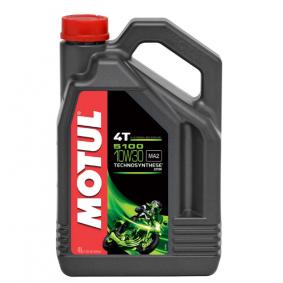Olio motore SAE-10W-30 (104063) di MOTUL comprare online