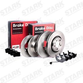 STARK SKBK-1090285 Kit frenos, freno de disco OEM - 1JD698451A SKODA, VW, VAG, MINTEX, SATURN, VW (FAW), VW (SVW), SKODA (SVW) a buen precio