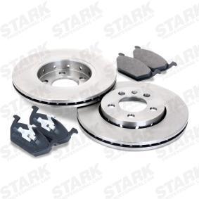 STARK SKBK-1090287 Bremsensatz, Scheibenbremse OEM - 8D0615301B AUDI, SEAT, SKODA, VW, VAG, MINTEX, METELLI, A.B.S., BRINK, FI.BA günstig