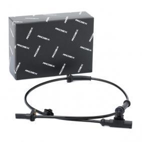 Sensor, Raddrehzahl RIDEX Art.No - 412W0131 OEM: 4545E1 für PEUGEOT, CITROЁN, VOLVO, ALFA ROMEO kaufen