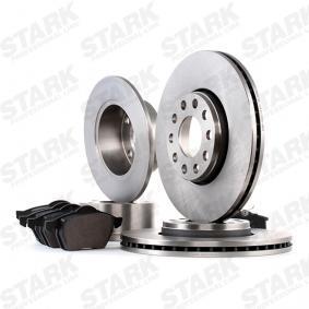 STARK SKBK-1090289 Kit frenos, freno de disco OEM - 1JD698451A SKODA, VW, VAG, MINTEX, SATURN, VW (FAW), VW (SVW), SKODA (SVW) a buen precio