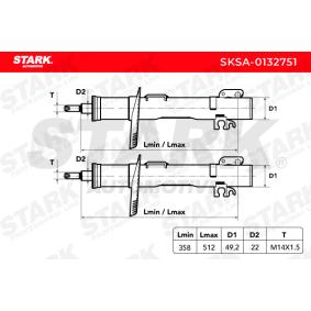 STARK Kit amortiguadores (SKSA-0132751)