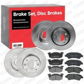 1612293980 for PEUGEOT, CITROЁN, DS, Brake Set, disc brakes STARK (SKBK-1090301) Online Shop