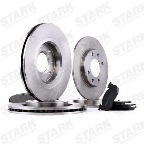 STARK SKBK-1090301 Brake Set, disc brakes OEM - 1612293980 CITROËN, PEUGEOT, RELIANCE, KEY PARTS, DS cheaply