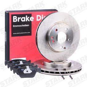 STARK SKBK-1090302 Bremsensatz, Scheibenbremse OEM - A004420022067 MERCEDES-BENZ, METZGER günstig