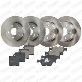 A004420022067 für MERCEDES-BENZ, Bremsensatz, Scheibenbremse STARK (SKBK-1090303) Online-Shop