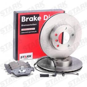 3 Touring (E46) STARK Bremsscheiben und Klötze SKBK-1090306