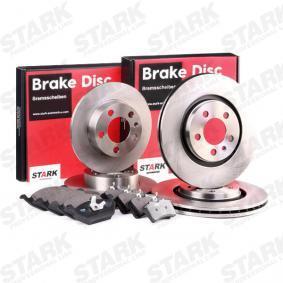 STARK SKBK-1090313 Bremsensatz, Scheibenbremse OEM - 410606678R RENAULT, VW, SANTANA, VAG, RENAULT TRUCKS, METELLI, PILENGA günstig
