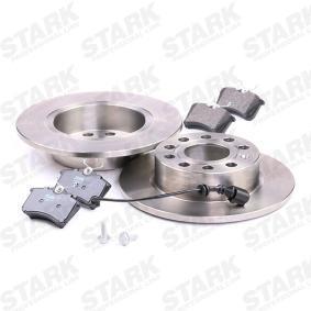 STARK SKBK-1090314 Bremsensatz, Scheibenbremse OEM - JZW698451F AUDI, SEAT, SKODA, VW, VAG günstig