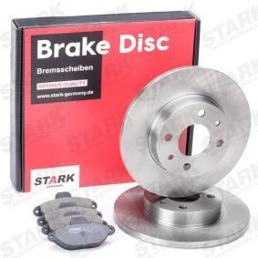 STARK Brake shoes and rotors SKBK-1090318