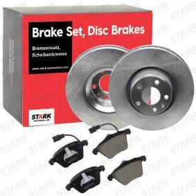 4F0698151B für VW, AUDI, SKODA, SEAT, Bremsensatz, Scheibenbremse STARK (SKBK-1090321) Online-Shop
