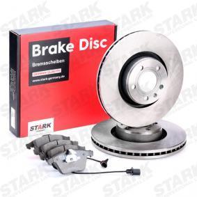 STARK SKBK-1090321 Bremsensatz, Scheibenbremse OEM - 4F0698151B AUDI, SEAT, SKODA, VW, VAG, METELLI, NK, BRINK, HELLA PAGID, VEMA günstig