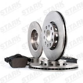 STARK SKBK-1090323 Kit frenos, freno de disco OEM - 1JD698451A SKODA, VW, VAG, MINTEX, SATURN, VW (FAW), VW (SVW), SKODA (SVW) a buen precio