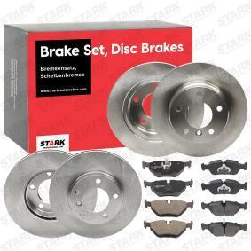 34212157574 für BMW, ROVER, Bremsensatz, Scheibenbremse STARK (SKBK-1090326) Online-Shop