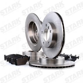 STARK SKBK-1090326 Bremsensatz, Scheibenbremse OEM - 34212157574 BMW, ROVER, BMW (BRILLIANCE) günstig