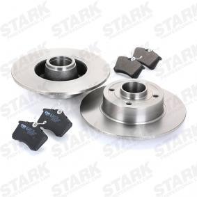 STARK SKBK-1090327 Kit frenos, freno de disco OEM - 6R0698451 AUDI, FORD, SEAT, SKODA, VW, VAG, METELLI, ICER, BRINK, HELLA PAGID, VW (FAW), NPS, JURATEK, FI.BA a buen precio