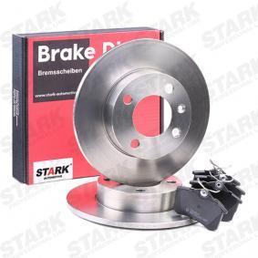 STARK SKBK-1090335 Kit frenos, freno de disco OEM - 6R0698451 AUDI, FORD, SEAT, SKODA, VW, VAG, METELLI, ICER, BRINK, HELLA PAGID, VW (FAW), NPS, JURATEK, FI.BA a buen precio