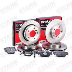 3 Touring (E46) STARK Bremsscheiben und Klötze SKBK-1090340