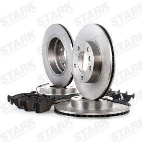 STARK SKBK-1090340 Bremsensatz, Scheibenbremse OEM - S5058110 SAAB, BREMBO, OEMparts günstig