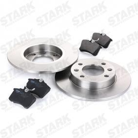 STARK SKBK-1090342 Kit frenos, freno de disco OEM - 6R0698451 AUDI, FORD, SEAT, SKODA, VW, VAG, METELLI, ICER, BRINK, HELLA PAGID, VW (FAW), NPS, JURATEK, FI.BA a buen precio