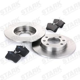 STARK SKBK-1090342 Bromssats, skivbroms OEM - 573005S BENDIX, STOP, DMB, STARK billigt